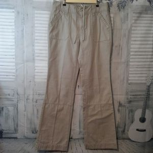Eddie Bauer Khaki Pants Size 8 Tall